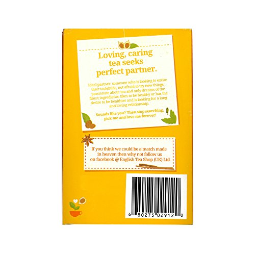 English Tea Shop - Schwarzer Tee Chai, BIO, 20 Teebeutel - (DE-Version)
