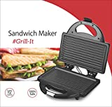 Lifelong LLSM115G 750-Watt 4-Slice Grill Sandwich Maker (Black)