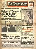 parisien libere le no 11973 du 18 03 1983 delors ce n est que le debut de l effort roger couderc mon dernier tournoi en projet a partir de 16 ans permis de conduire sous condition 10 skieurs de l ucpa emportes par une avalanche la rentree de jean marie riviere