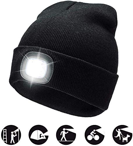 COTOP Unisex 4 LED Headlamp Bean...