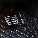 Pour Discovery Sport 201520162017de voiture en aluminium Fuel gas Pédale de frein Cover Trim Accessoires Auto NEUF Arriavls