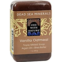 One With Nature Soap (210ml), Vanilla Oatmeal