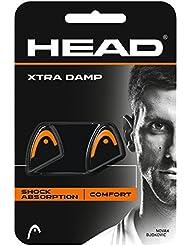 Head Xtra Damp Lot de 2 antivibrateurs de raquette Noir et blanc