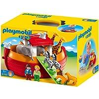 Playmobil 1.2.3 - Arca de Noé, forma de maletín (6765)