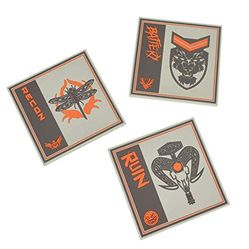 Call of Duty Black Ops 4 Silicone Coasters (3 Pack) (Getränke Of Duty Call)