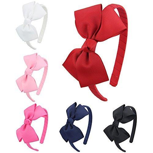 7rainbows cerchietto per capelli bambine e ragazze(6 pezzi un set)