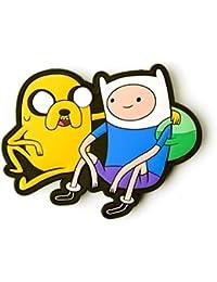Bioworld - Boucle de Ceinture Adventure Time Jake et Finn