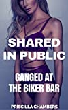Ganged at the Biker Bar (Shared in Public Book 4) (English Edition)