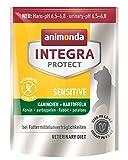 animonda Integra Protect Sensitive mit Kaninchen und Kartoffeln | Diät Katzenfutter | Trockenfutter bei Futtermittelallergie (300 g)