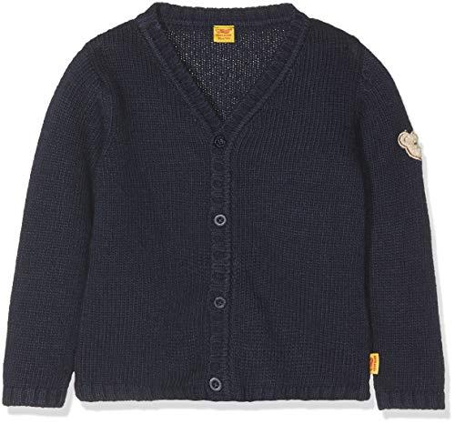 Steiff Baby-Jungen Strickjacke 1/1 Arm, Blau (Marine|Blue 3032), 62