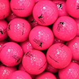 Links Choice - Lote de 12 pelotas de golf (de colores, recuperadas) rosa rosa