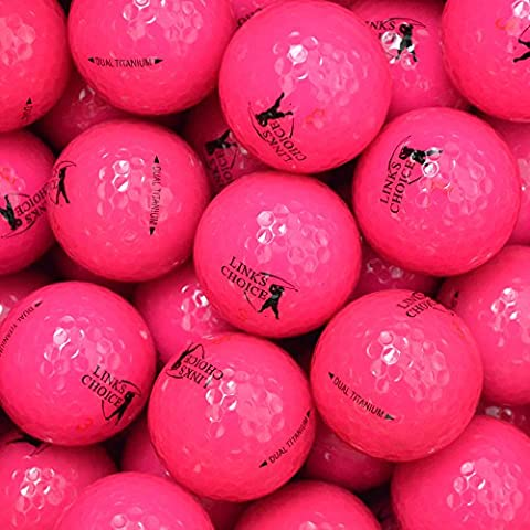 LP-Golf Golfbälle 12er Pack, pink, 4039117663316