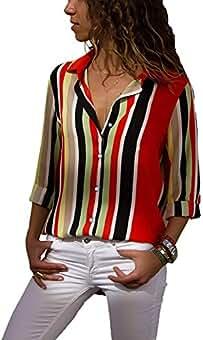 66b98e2d3ffc Amazon.es: Modas Blusas Elegantes - Multicolor
