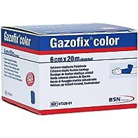 Gazofix color Fixierbinde kohäsiv 6cm x 20m Blau, 1 St preisvergleich bei billige-tabletten.eu