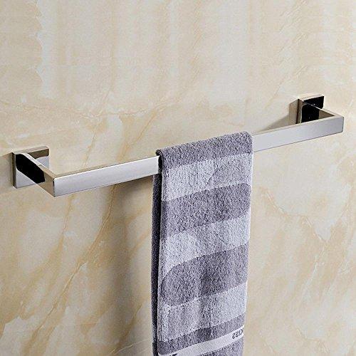 mellewell modernes Badezimmer Zubehör Wand montiert, Edelstahl poliert, 06CP, edelstahl, poliert, Towel Bar -