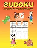 Sudoku Resolución de problemas lógicos niños: 150 Adivinanza - fácil - medio - difícil | Con soluciones 9x9 Clásico puzzle -Juego De Lógica