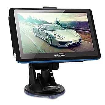 """CARCHET 5"""" GPS Navigation Navi Tactile Europe 128MB 8Go MP3 FM + Support Voiture"""