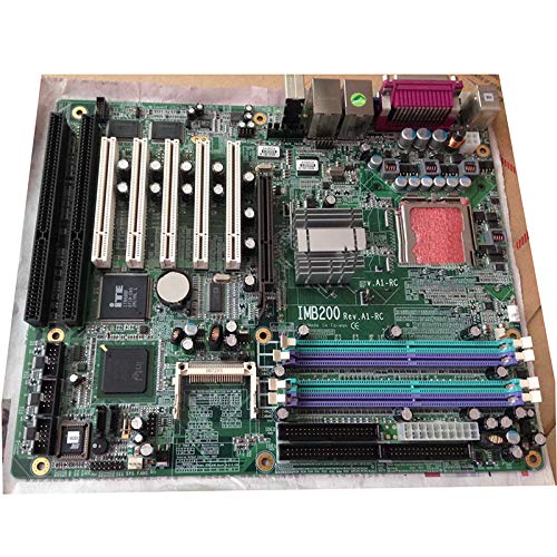 WanSen IMB200 REV: A1-RC 775 865G Industrial Motherboard 2 ISA Slots Dual Network Cards