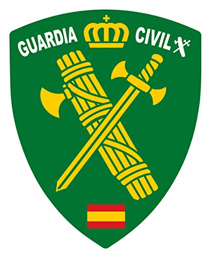 Artimagen Pegatina Escudo Pico Logotipo Guardia Civil
