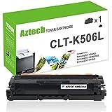 Aztech 1 Pack XXL Toner Kompatibel für Samsung CLT-K506L CLT-K506L/ELS Tonerkartuschen für Samsung CLP-680ND CLX-6260FR CLX-6260FD CLX-6260ND CLX-6260FW Toner Schwarz Patrone Drucker