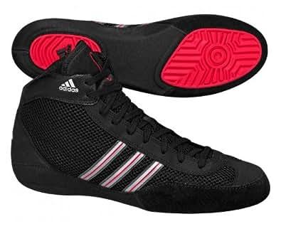Adidas Combat Speed III Boys' Black Boxing Boots -Size 4.