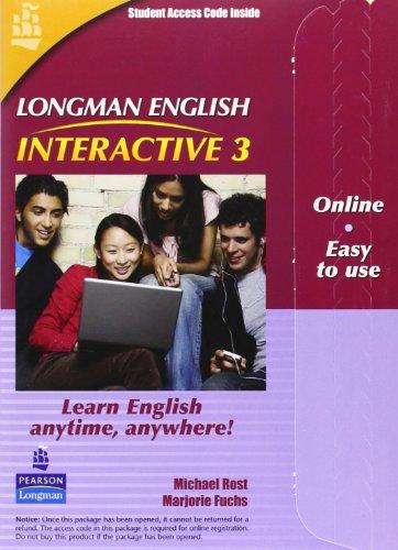 Longman English Interactive 3, Online Version, British English (Access Code Card)