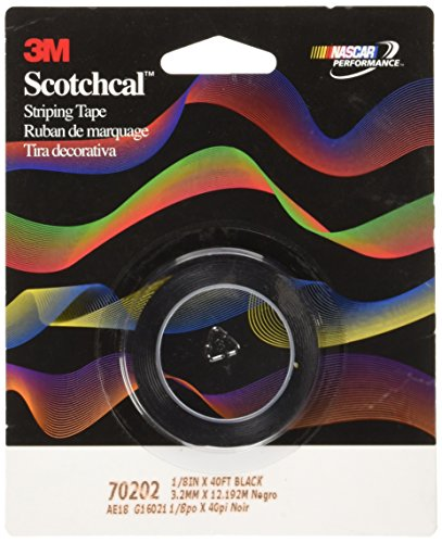 Auto-striping-tape (3M Scotch Scotchcal Striping Tape: 1/8in. x 40ft. (schwarz))