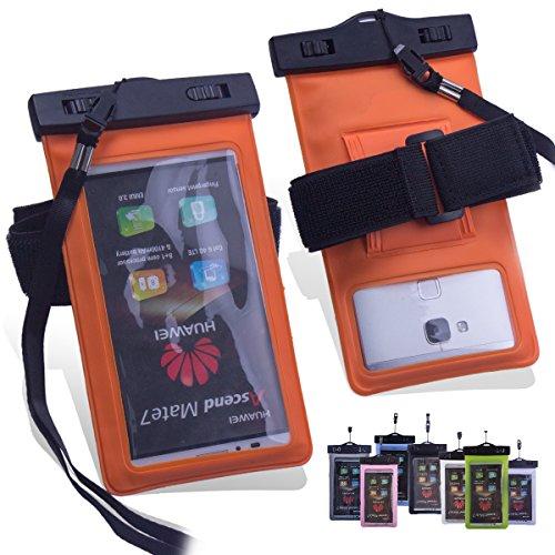 ZeWoo Sac Etanche Lumineuse Smartphone En Moins De Portable De 5.7 Pouces Universelle - Compatible avec Apple iPhone 3gs / 4 / 4S / 5 / 5S / 5C / 6 / 6 Plus / iPod Touch 4(3.5 Pouces) / Touch 5(4 Pouc 02008