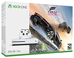xbox one s 500gb forza horizon 3 high tech. Black Bedroom Furniture Sets. Home Design Ideas