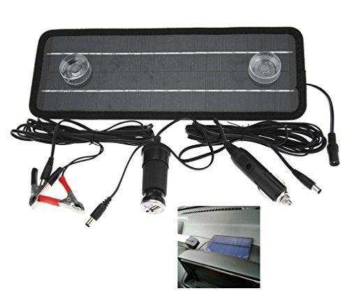 Panneau solaire-Chargeur solaire de batterie Portable Nouveau 12V 4.5W pour bateau voiture