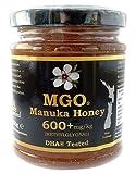 BEE NATURAL Manuka Honig / Miel de Manuka MGO 600+ 250gr. MANUKA HONIG IN EINEM ECHTGLAS GLAS.