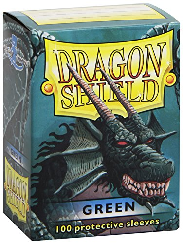 Arcane Tinmen 10004 - Dragon Shield Standard Sleeves, 100 Stück, grün (Dragon Shield Sleeves Green)