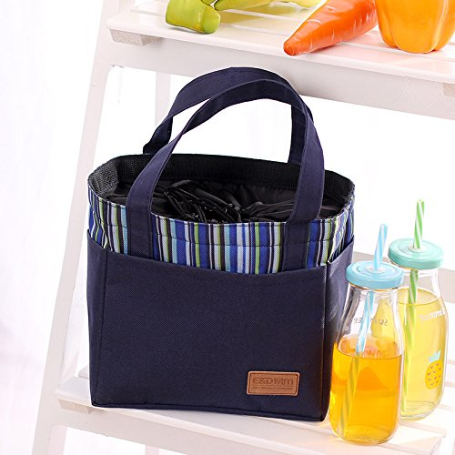 qearly-fashion-stripe-oxford-drawstring-tote-lunch-bag-clooer-bag-insulated-picnic-bag-snack-food-st