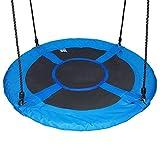 Hi Suyi Kinder Outdoor Garten Baum Swing Set Disc Nest Swing Sitz, 100CM Durchmesser, Heavy Duty, Einfache Einrichtung, für Hinterhof