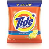 Tide Plus Detergent Washing Powder with Extra Power Lemon and Mint Pack - 2 kg (Rupees 25 Off)