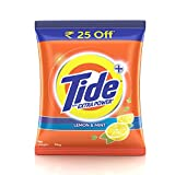 #1: Tide Plus Extra Power Detergent Washing Powder - 2 kg (Lemon and Mint, Rupees 25 Off)