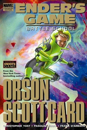 Ender's Game: Battle School Premiere HC (Ender's Game Gn)
