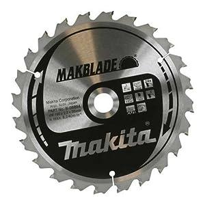 Makita B-09070 Makita MAKBlade B-09070 Fine Cut Circular Saw Blade 260mm x 30mm 1 Silver