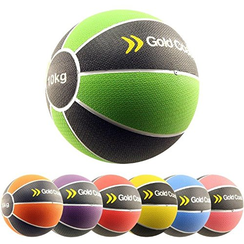 Gold Coast 2kg - 10kg Heavy Duty Rubber Medicine Balls - For...