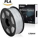 PLA Plus Filaments for 3D Printer-SUNLU PLA+ Filament 1.75 mm,Low Odor Dimensional Accuracy +/- 0.02 mm 3D Printing Filament,2.2 LBS (1KG) Spool 3D Printer Filament for 3D Printers & 3D Pens