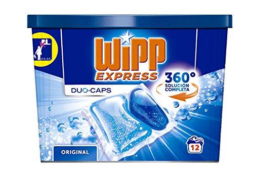 Wipp Express duo-caps Reinigungsmittel für Kleidung–12Kapseln