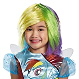 Disguise Rainbow Dash Wig One Size Child
