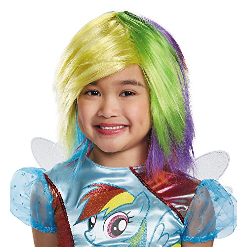 Disguise Rainbow Dash Wig One Size Child