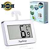 Termómetro digital Termómetro de Frigorífico - Suplong Mini Digital Preciso LCD Refrigerador Monitor de Temperatura