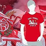 World of Football Bayern Triple Sieger Shirt Triple winners - L