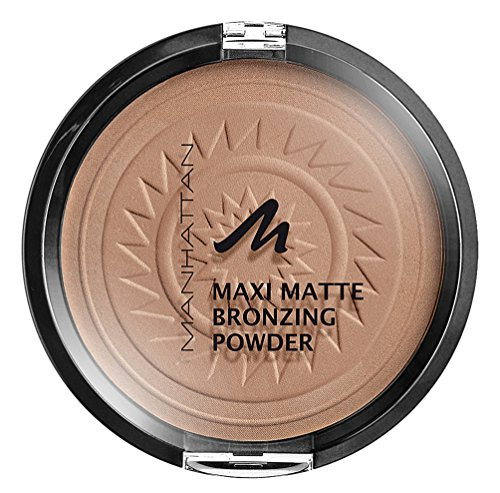 Manhattan Matte Maxi Bronzing Powder, 001, Blonde, 17 g -