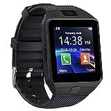 TOOGOO(R) Bluetooth montre Smart Watch Phone DZ09 support de la carte SIM de TF Camera HD Sync appel SMS pour Android Phone -Noir