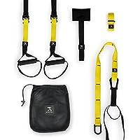 Kapital Training Fitness Straps - Sangles de Suspension Ajustables. Noir/Jaune