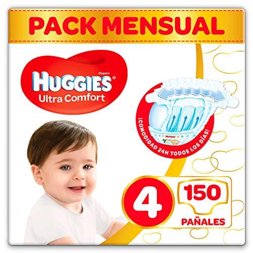 Huggies Ultra Comfort Pañales Talla 4 (7-18