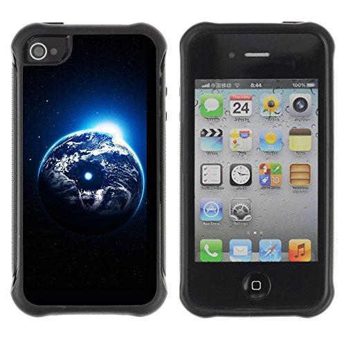 Graphic4You 3D Digital Muster Design Harte Hülle Case Tasche Schutzhülle für Apple iPhone 4 und 4S Design #14